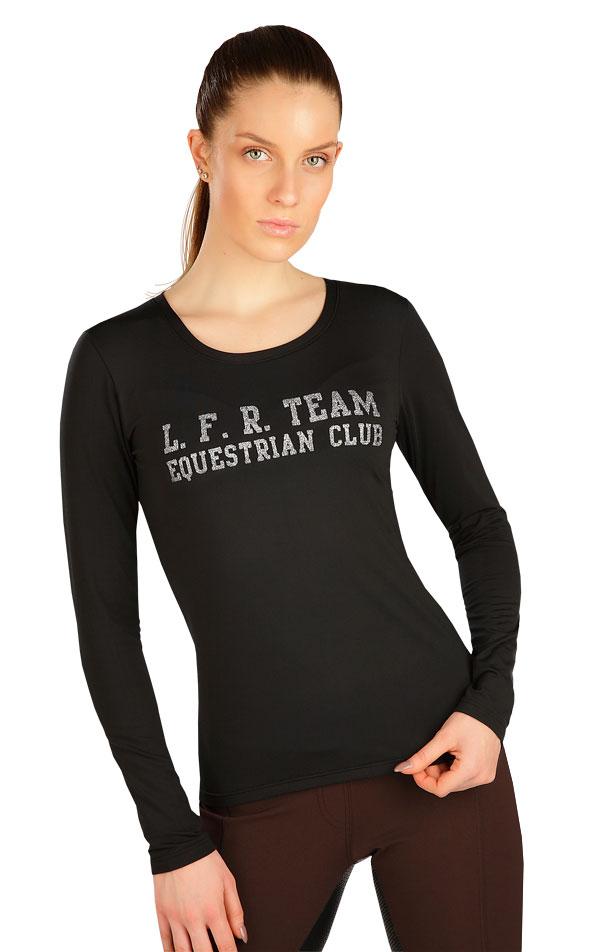 Tričko dámske s dlhým rukávom. J1231 | Jazdecké tričká LITEX