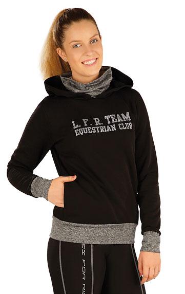 Jazdecké oblečenie > Mikina dámska s kapucňou. J1232