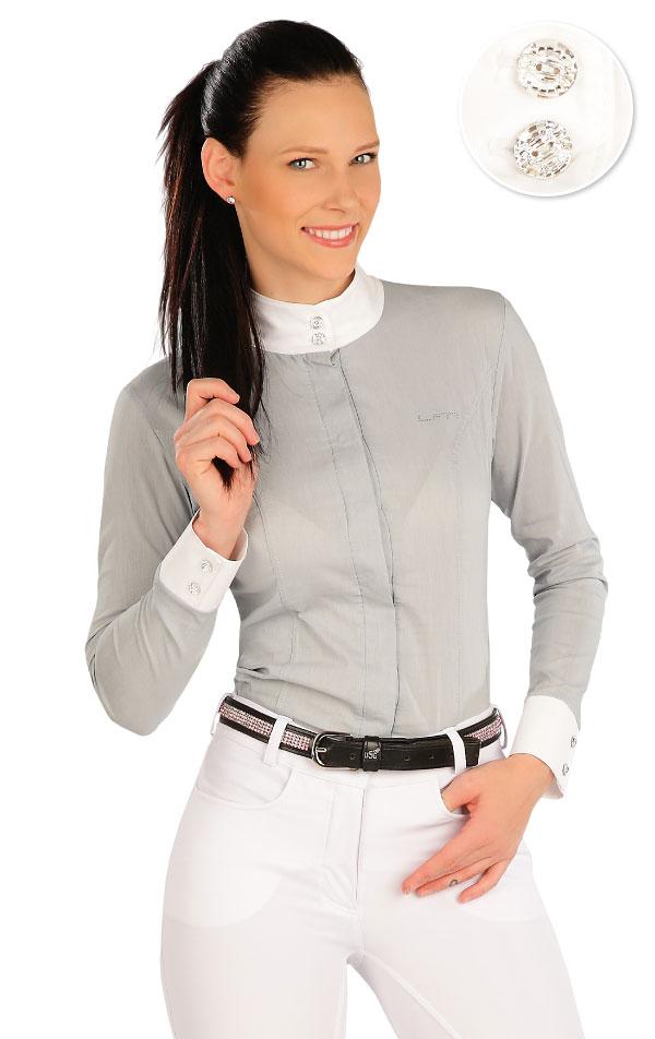 Košeľa dámska. J1233 | Jazdecké tričká LITEX