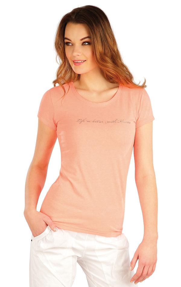 Tričko dámske s krátkym rukávom. J1237 | Tričká, topy, tielka LITEX