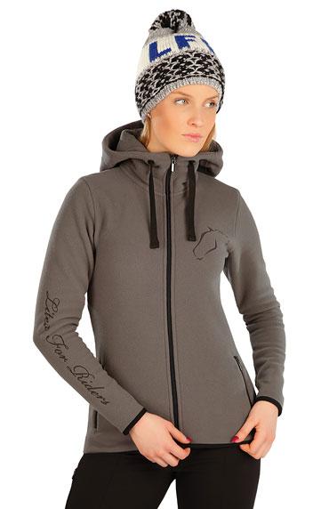 Jazdecké oblečenie > Fleecová mikina dámska. J1239