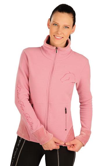 Jazdecké oblečenie > Fleecová mikina dámska. J1241