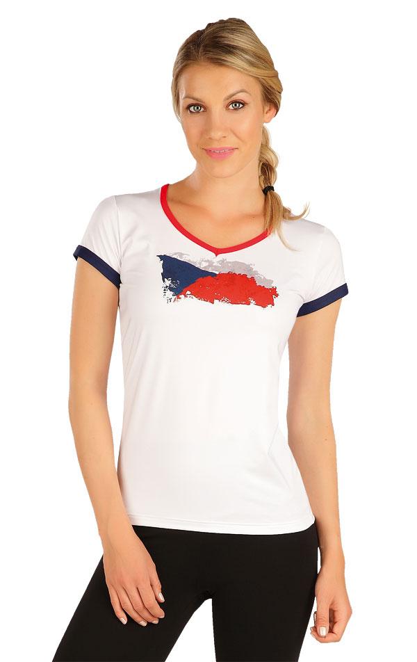 Tričko dámske s krátkym rukávom. J1256 | Jazdecké tričká LITEX