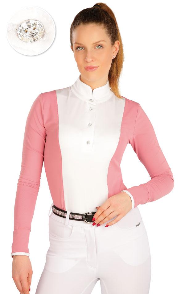 Tričko dámske s dlhým rukávom. J1257 | Jazdecké tričká LITEX